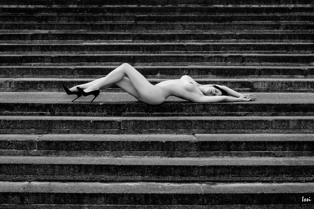 #nude #escaleras #madrid #photography